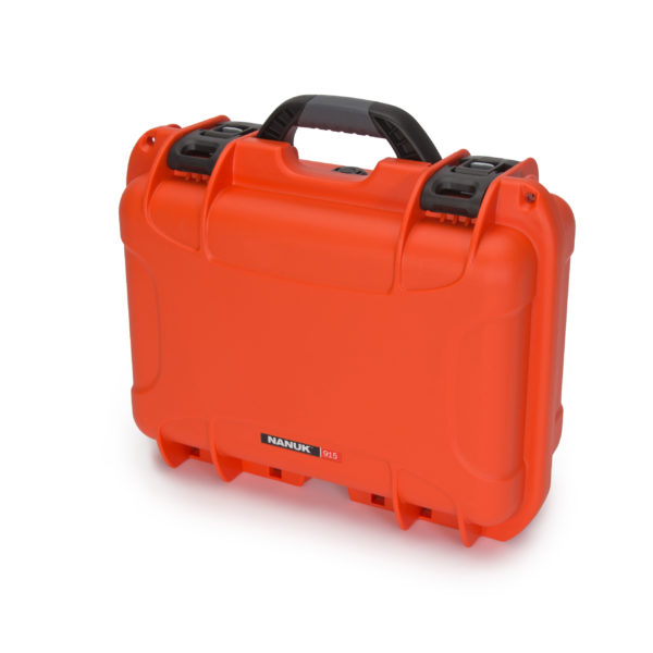 Leafield Cases | Nanuk Cases | 915 orange case