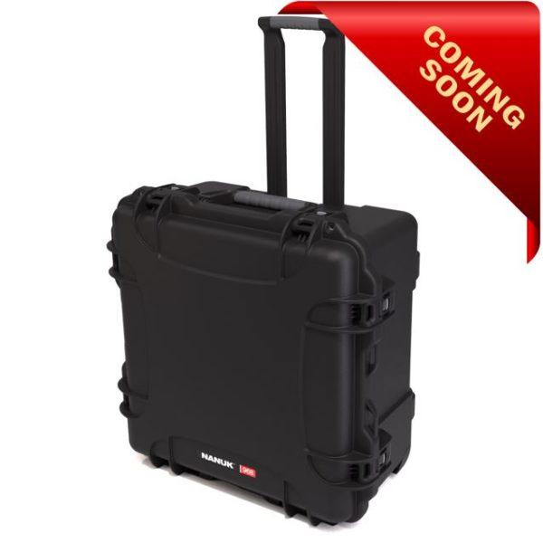 Leafield Cases | Nanuk Cases | 968 black case