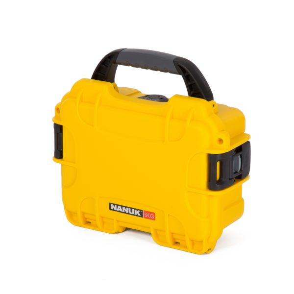 Leafield Cases | Nanuk Cases | 903 yellow case