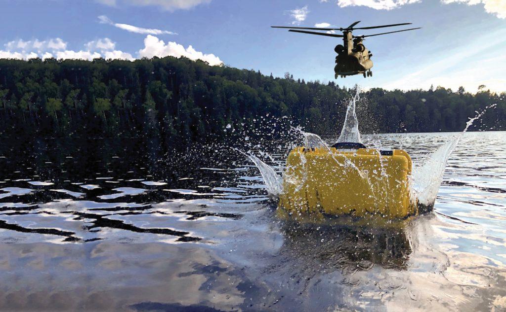Leafield Cases | Nanuk Cases | Nanuk Case Dropped into Water