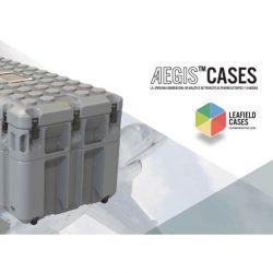 Leafield Cases | Aegis Cases | Aegis Cases Spanish Brochure Cover