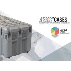 Leafield Cases | Aegis Cases | Aegis Cases French Brochure Cover
