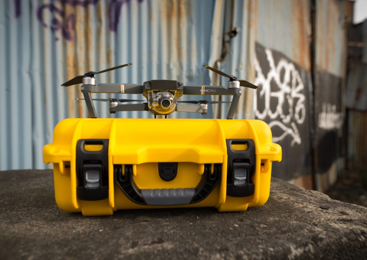 Leafield Cases | Nanuk Cases | Nanuk case with drone on top